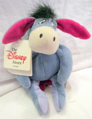 """9"""" Disney Store Eeyore Beanie New With Tags"""