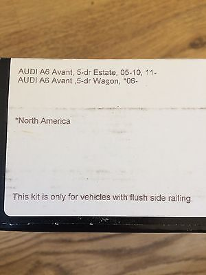 Thule Rapid fixpoint System Fitting Kit 4001 for AUDI A6 AVANT / Brand New.
