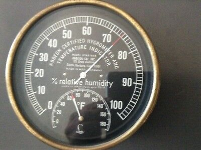 Lufft Relative Humidity Hygrometer And Thermometer