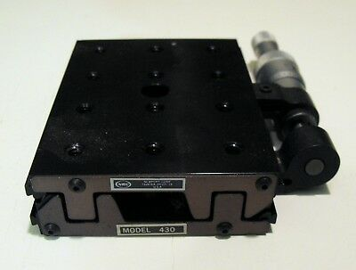 Nice NRC NEWPORT 430 Precision Linear Stage  with MICROMETER