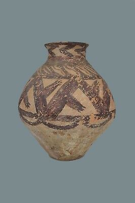 Chinese Neolithic Ancient Earthenware Terracotta clay vessel 2500 BC