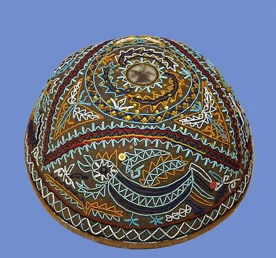 A Rare Large Antique Ceremonial Basket covering for offerings from Bali