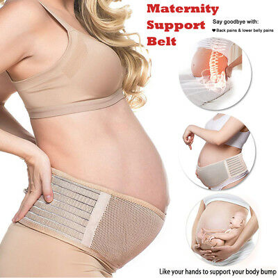 Special Maternity Back Support Belt Pregnancy Band Waist Lumbar Lower BACK Strap