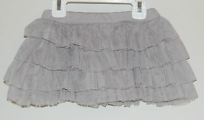 * Brand New* Kelly's Kids Tina Tutu Grey Jersery Tulle Skirt ~ Girl's 18 Month