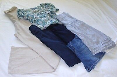 MATERNITY MIXED LOT of 5 Sz MEDIUM/8 - Old Navy -GAP- LL - Motherhood -