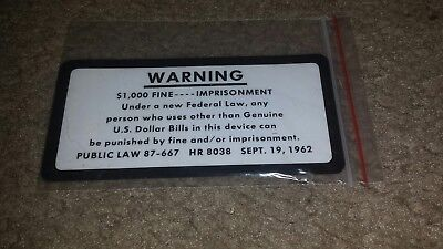 1arcade warning decal.