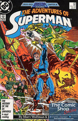 Adventures Of Superman (1987) 1st Printing Bagged & Boarded DC Comics (NM)