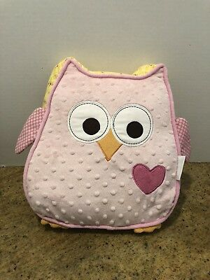 Pink Owl Room Decor And Pillow