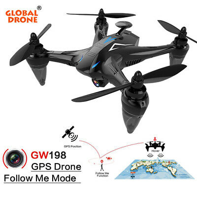 Upgrade WIFI RC GW198 5G 2.4G Drone W/ 1080P Camera GPS FPV Brushless Helicopter
