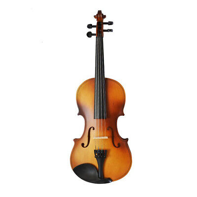 A55 Handmade 4/4 Full Size Wooden Violin Beginners Practice Musical Instrument M