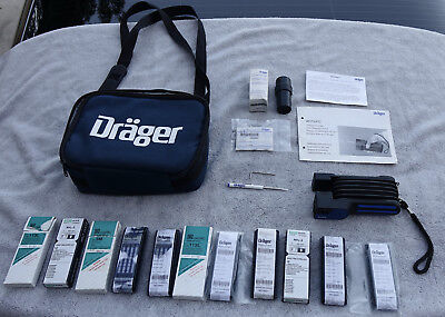 Drager Accuro Gas Detector Pump Kit - Mint in Case but READ!