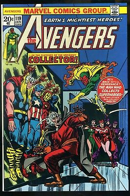 Avengers #119 NM  1st Appearance Collector