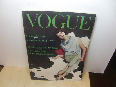 Vogue magazine – March 15th 1961 – UK issue