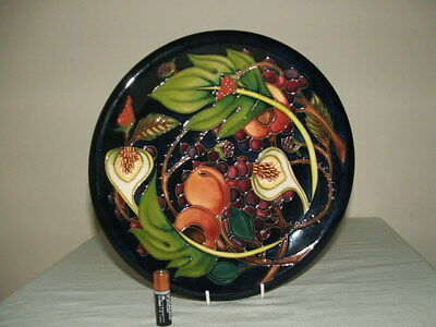 Moorcroft 1 St Class Queens Choice Wall Or Cabinet Plate  Truly Fabulous