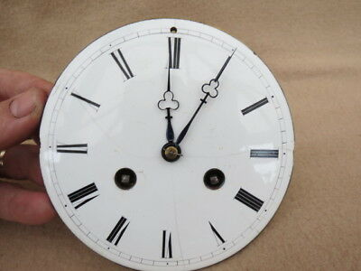 Antique Japy Fils 1855 Clock Movement And Hands For Spares Or Repair