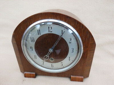 Vintage Enfield 8 Day Timepiece Mantel Clock For Tlc