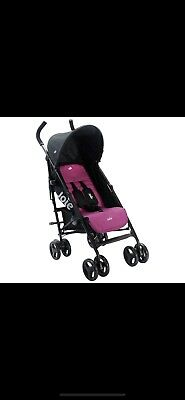 JOIE PINK NITRO STROLLER/BUGGY With Raincover