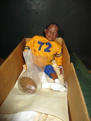 Daddys Long Legs Doll Bull Bishop Box Coa Dlm95A Football Player 1995 Ee W217 Pa