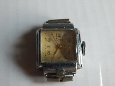 Vintage Ladies Cyma 15 Jewels Swiss Made Working Watch Movement