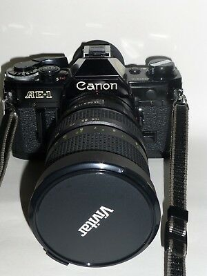 CANON AE-1 mit Zoom 35-105mm