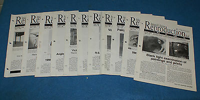11 Issues of Antiques & Collectors Reproduction News 1999