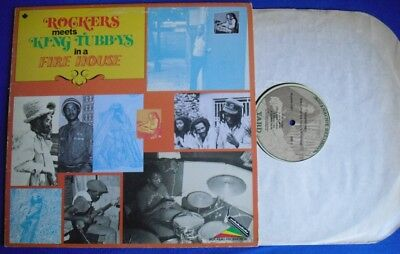 """AUGUSTUS PABLO """"Rockers meets King Tubbys in a Fire House"""" LP"""