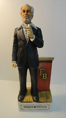 Wilbro  The Rare  1978  Foster Brooks Celebrity Series Decanter