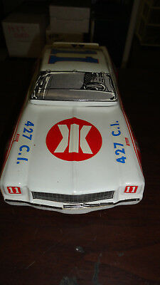 Rare- Cale Yarborough #11 Nascar Chevy Car Decanter