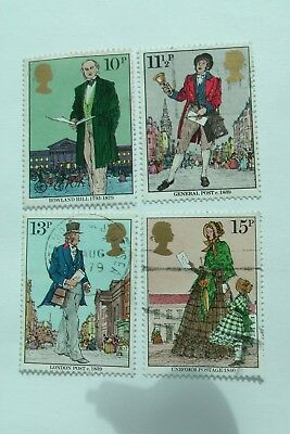 Death Centenary of Sir Rowland Hill fine used set from 1979