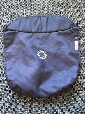Bugaboo Frog Stroller Bassinet Apron Navy Blue EUC Fabric carrycot cover baby