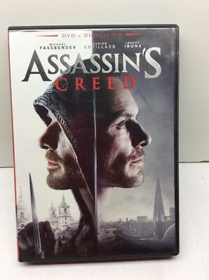 ASSASSIN'S Creed DVD Digital Hd Unused Code Included