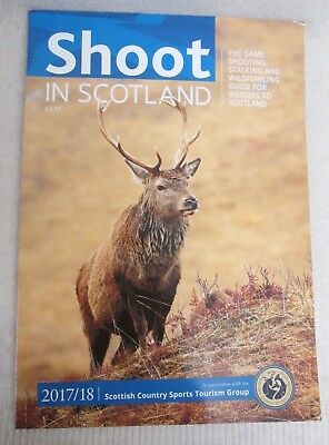 Shoot in Scotland 2017/18 Magazine - Edited by Peter Carr