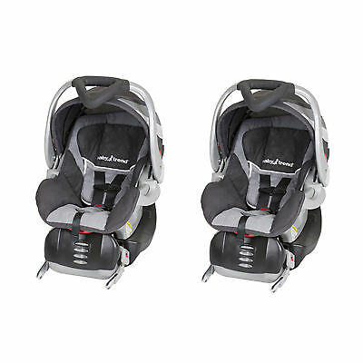 Baby Trend Flex-Loc Adjustable Infant Car Seat and Car Base, Liberty (2 Pack)