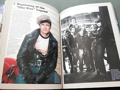 """Signed """"schott 100 Years"""" Perfecto Leather Motorcycle Coat Jacket Reference Book"""