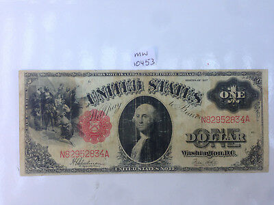 mw10453 USA   Large   ONE DOLLAR Series of 1917