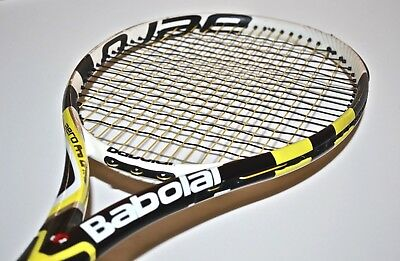 Used Babolat AeroPro Drive GT 100-In 4-1/4-Grip Tennis Racquet FAST FREE SHIP