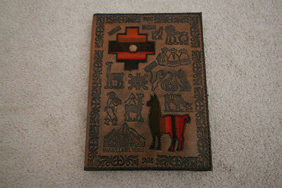 Leather Notebook from Peru!