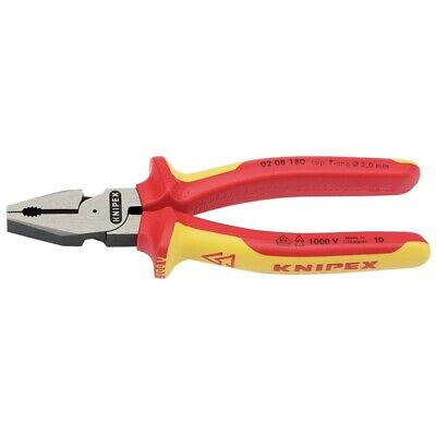 Knipex 180mm Insulated Leverage Combination Pliers