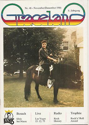 ELVIS Graceland Magazin Nr. 48 - 1986
