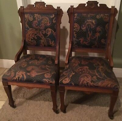 2 Eastlake Parlor CHAIRS