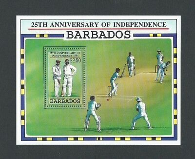 Barbados 1991 UMM 25th Anniv of Independence MS 970