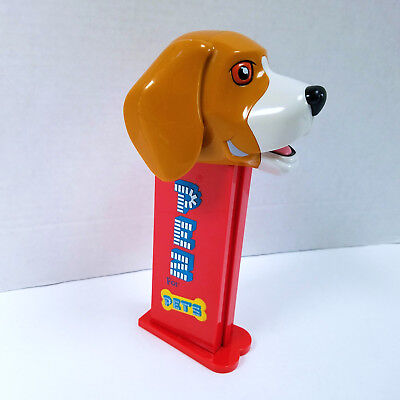 "PEZ for Pets 8"" Tall Beagle Large Dispenser with feet Dog Treat - VGC  FREE SHIP"
