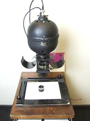 Leitz Leica FOCOMAT 1a Early 35mm ENLARGER 10x8 Easel DAXOO 5cm 3.5 Lens Rewired