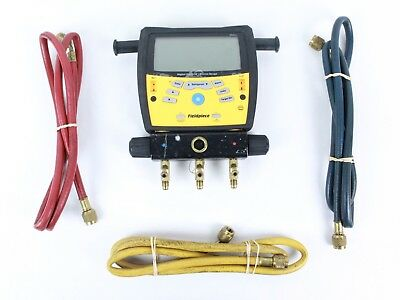 Fieldpiece SMAN360 3-Port Digital Manifold with Micron Gauge