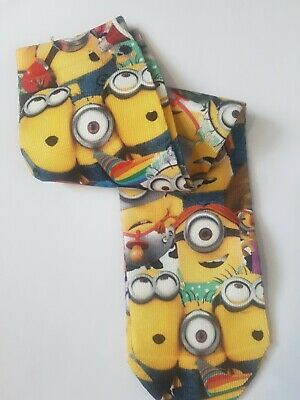 Boys,Girls,Childrens. Minion Despicable Me Socks - One Pair.