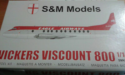 1:144 Vickers Viscount 800 S & M Eagle Airways sehr selten
