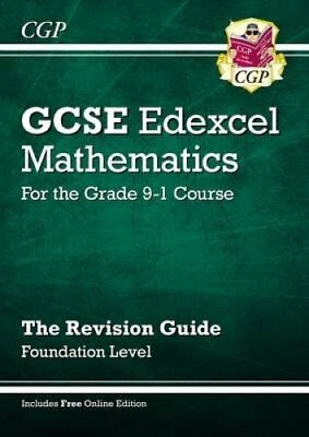 GCSE Maths Edexcel Revision Guide: Foundation - for the Grade 9... 9781782944003