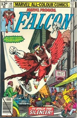 Marvel Premiere 49 from 80 - The Falcon Appears