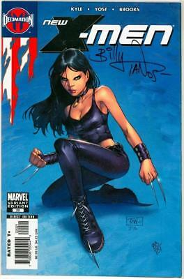 New X-Men #20 X-23 Variant Dynamic Forces Signed Billy Tan Coa Marvel Comics