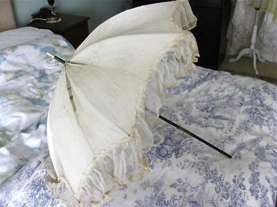Antique Folding Parasol-Needs New Cover.
